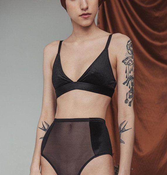 Sheer Panties Model Photos