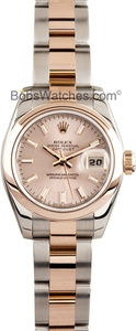 Womens Rolex DateJust 179161 at Bob's Watches.com