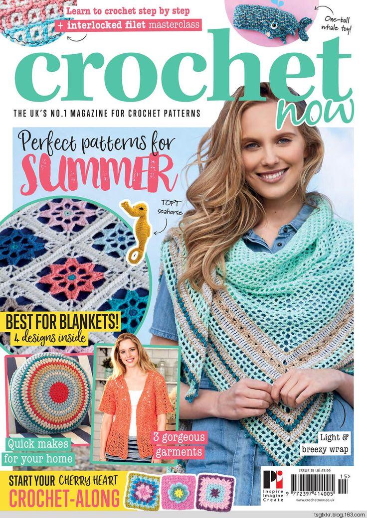 Crochet Now №15 2017 - 轻描淡写 - 轻描淡写