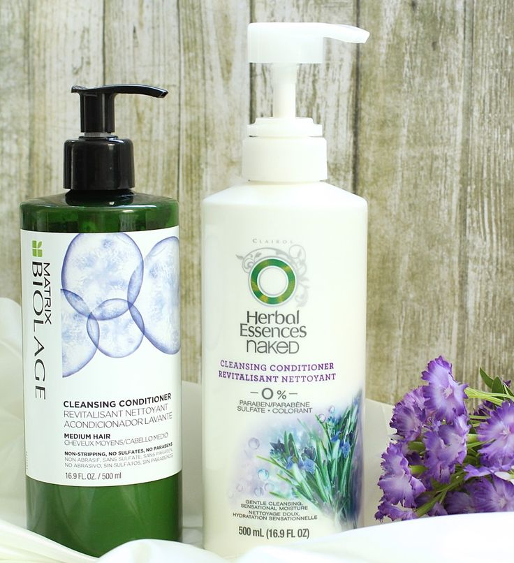 Biolage v. Herbal Essences Cleansing Conditioners!