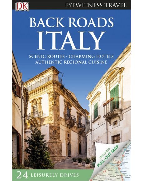 DK Eyewitness Back Roads Italy is the ultimate driving travel guide which will take you via scenic routes to discover charming villages, local