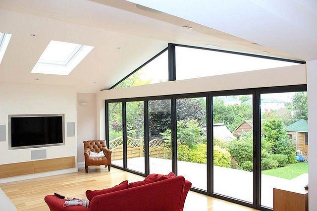 21 best bungalow ideas images on pinterest bungalow for Living room extension ideas