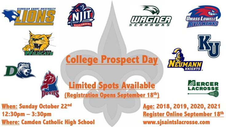 Registration to begin soon for College Prospect Day in South Jersey on Oct. 22 at Camden Catholic - http://toplaxrecruits.com/registration-begin-soon-college-prospect-day-sj-oct-22-camden-catholic