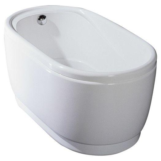 24 best freestanding tubs images on pinterest for Best soaker tub for the money