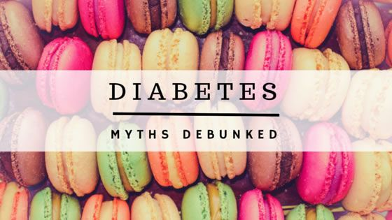 Diabetes myths debunked: