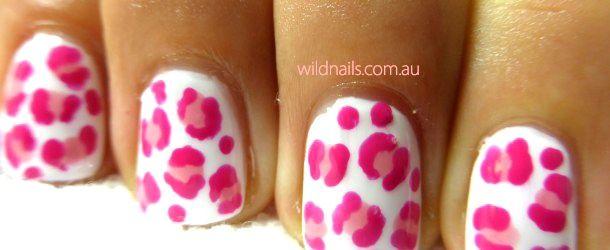 Pink Cheetah Nails by WildNailsSydney - Nail Art Gallery nailartgallery.nailsmag.com by Nails Magazine www.nailsmag.com #nailart
