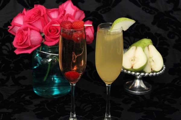 Good vs. Evil Sparkling Wine Cocktail Recipes