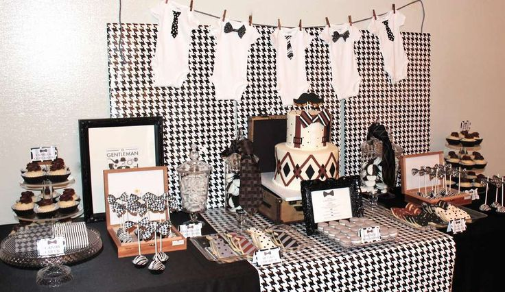 Little Gentleman Baby Shower Party Ideas | Photo 19 of 20 | Catch My Party
