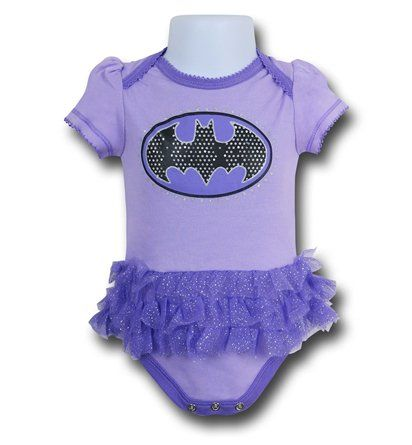 Save $5 on any order over $25 order when you share our page to your favorite social media network.  Discount does not apply to HeroBox Batgirl Symbol Infant TuTu Snapsuit