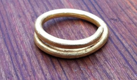 Swedish woman finds 2,000-year-old gold ring