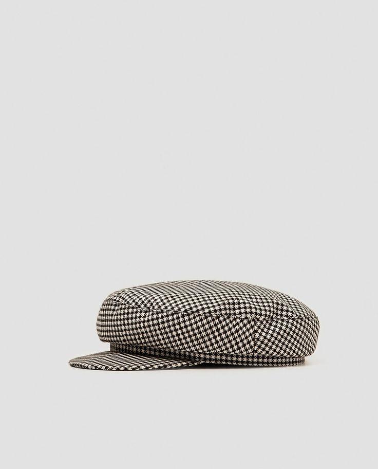 Image 1 of NAUTICAL STRIPE NEWSBOY CAP from Zara