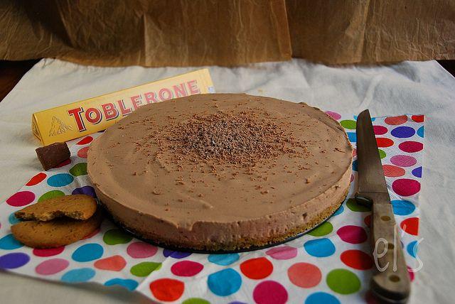 Cheesecake sans cuisson au Toblerone