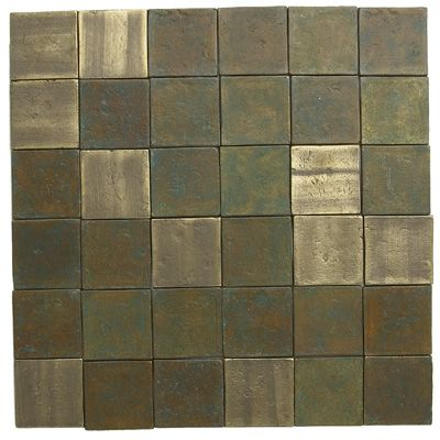 Recycled Brass Tile Mixed Finishes 35 Sq Foot By Eco Friendly Flooring This Would