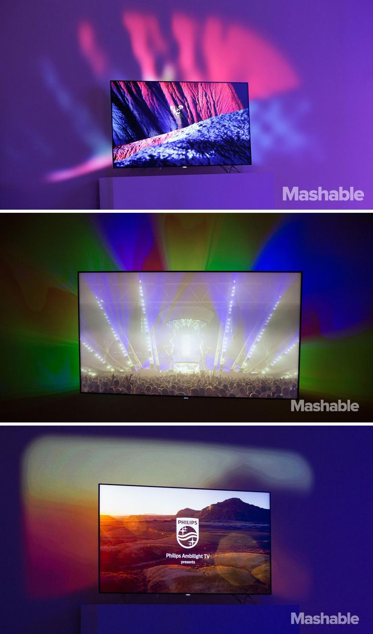 Philips 39 ambilux tv extends the picture onto your walls for Hd pico projector