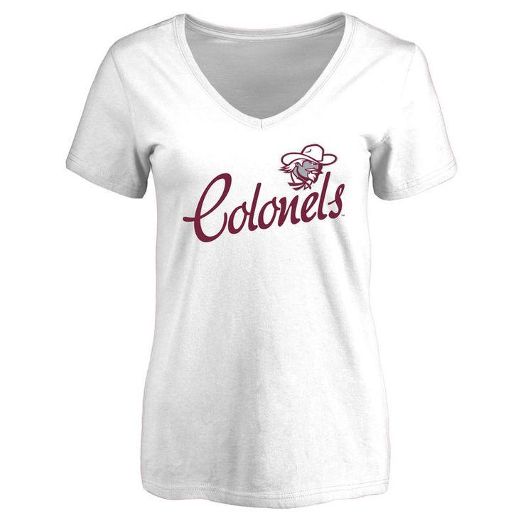 Eastern Kentucky Colonels Women's Dora Slim Fit T-Shirt - White