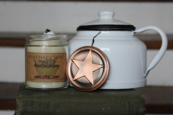 Rosemary Mint 8oz Soy Blend Candle