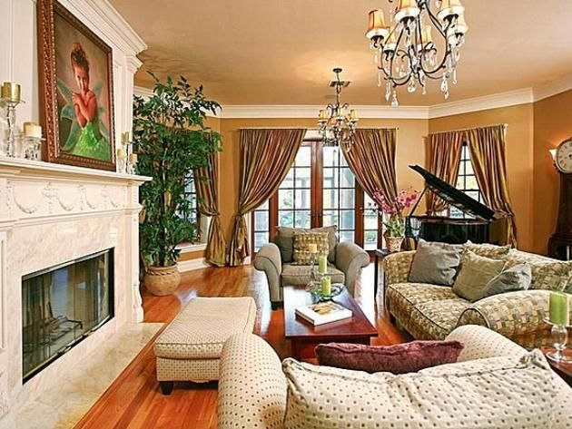 celebrity living rooms 107 best living rooms images on 10415