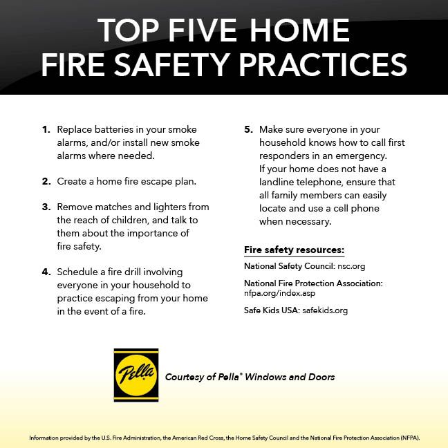 18 best home safety images on pinterest safety tips for Fire prevention tips for home