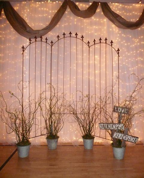 Best 25 Rustic Wedding Backdrops Ideas On Pinterest