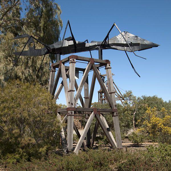 The Big Ant.  Broken Hill, Australia