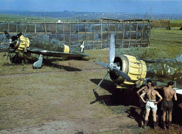 Macchi C.200 Russia front