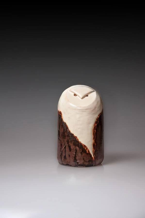 ceramic figurine, handmade, owl