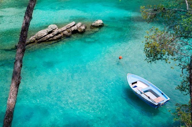 Mallorca - Badebucht #Fornells. Eine von 10 grandiosen #Badestellen.