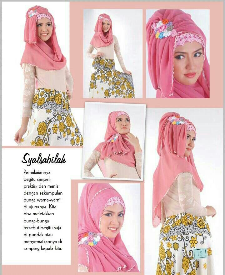 Hijab Rajut SYALSABILAH (Pashmina Instan)