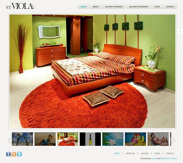 Viola - Drupal photogallery theme