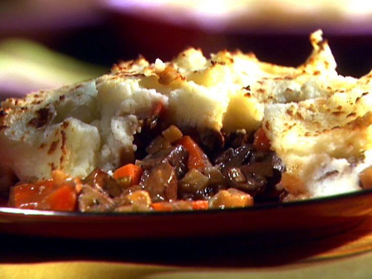 Vegetarian Shepherd's Pie recipe from Aida Mollenkamp via Food Network