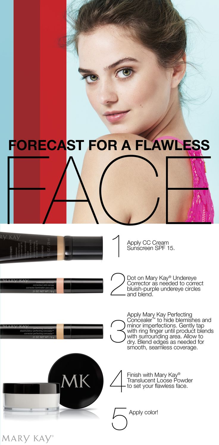 Summer's bright, bold colors really pop on a flawless face. Get your flawless skin now!