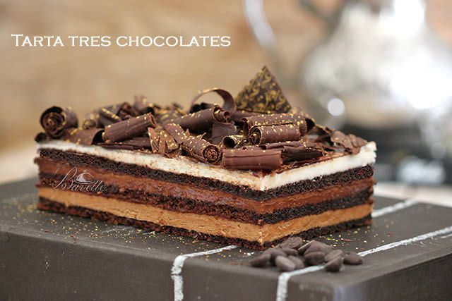 Tri čokoladna torta