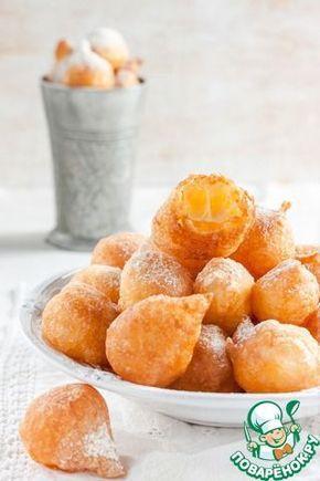 """Французские заварные пончики """"Пе-де-нонн"""" ингредиенты"""