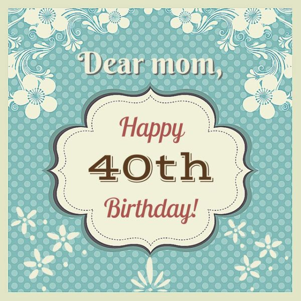 Happy 40th Birthday In Heaven Quotes: Best 25+ 40th Birthday Wishes Ideas On Pinterest
