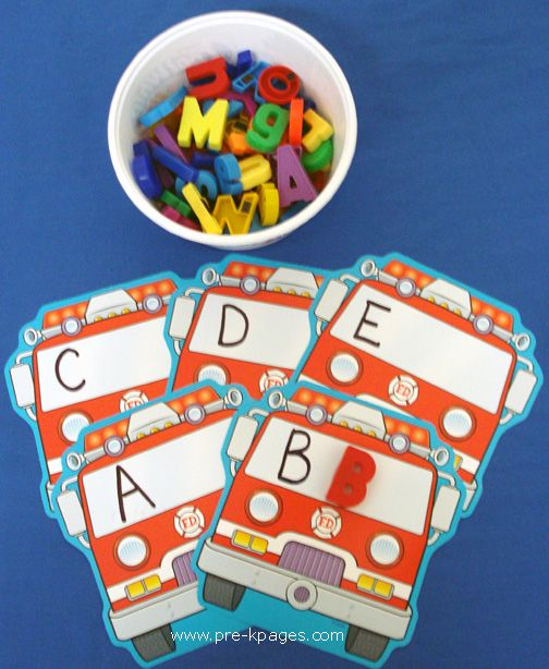 "Could do with every theme???? could also use ""small"" abc items to match with beginning sound"