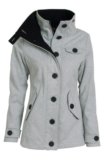 Woolshell Ladies´ Jacket Grey