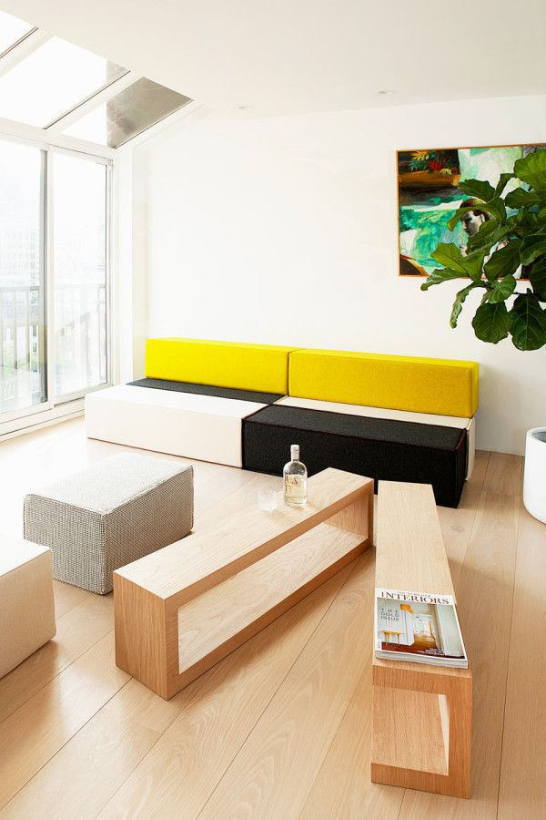 ZIG Modular Furniture by Cezign