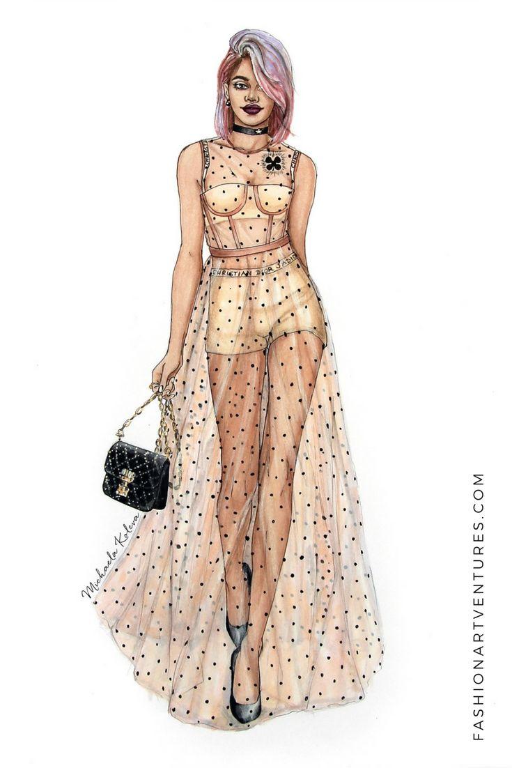 Custom Fashion Illustration in 2019 | illustrations ...