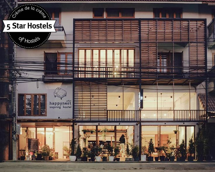 Happynest Hostel Chiang Rai - cosy 5 Star Boutique Hostel