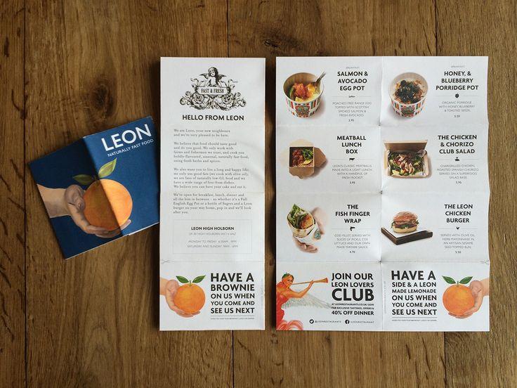 Foldable handout - introducing Leon to the neighbourhood