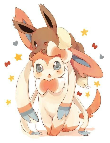 Why are Eevee and its eeveelutions so cute?