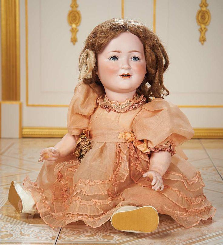 Cotillion - The Susan Whittaker Collection : 265 German Bisque Portrait of Princess Elizabeth by Schoeneau and Hoffmeister