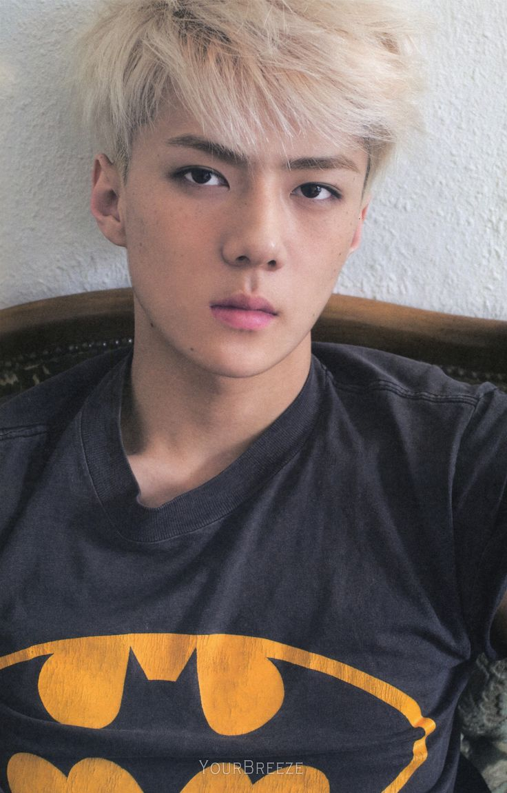 Sehun | EXO's first official photobook 'DIE JUNGS'