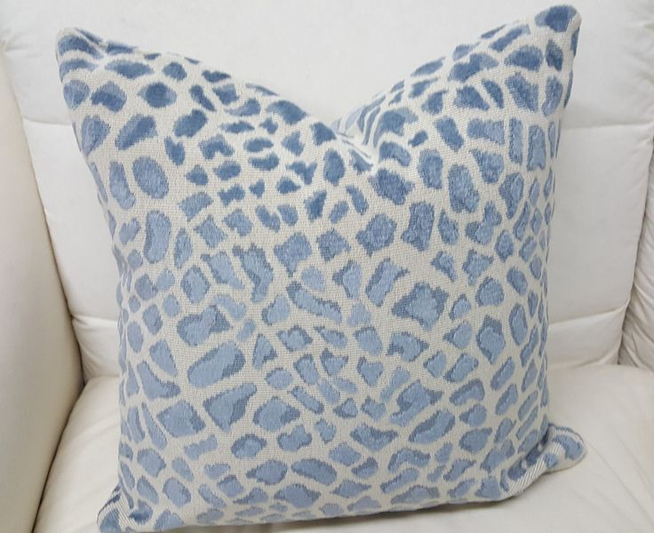 Leopard Couch Pillow Blue Pinterest Products Coaches