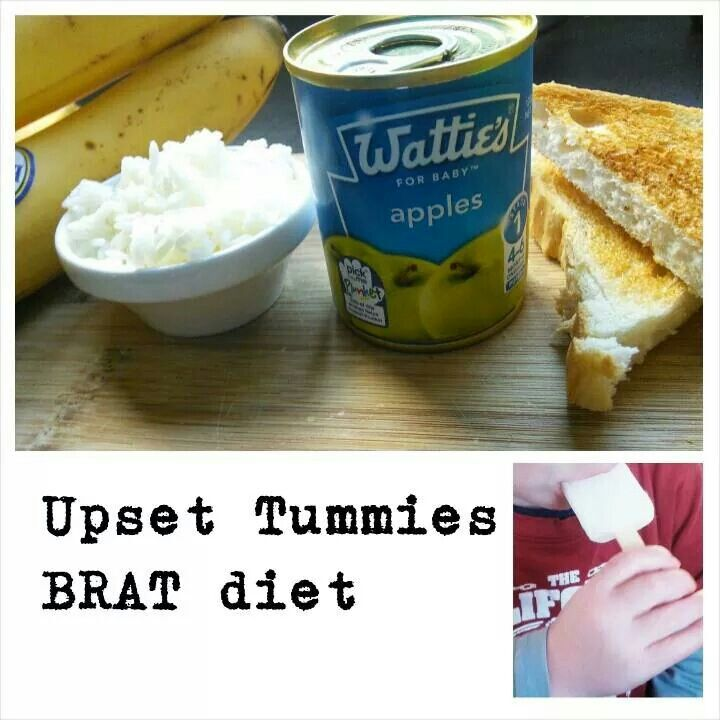 Bland Food Ideas For Upset Stomach
