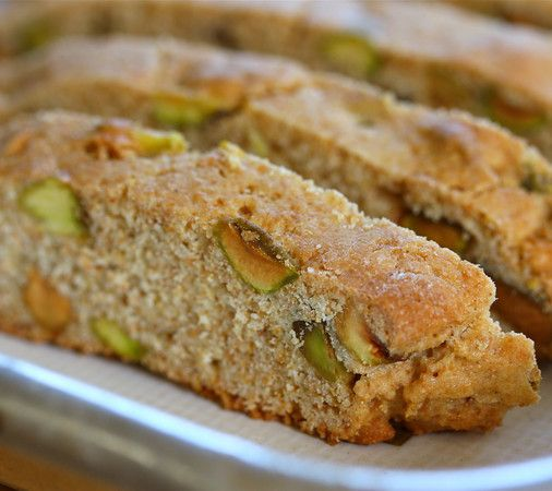 Honey Pistachio Biscotti | Food: Sweet treats to try | Pinterest
