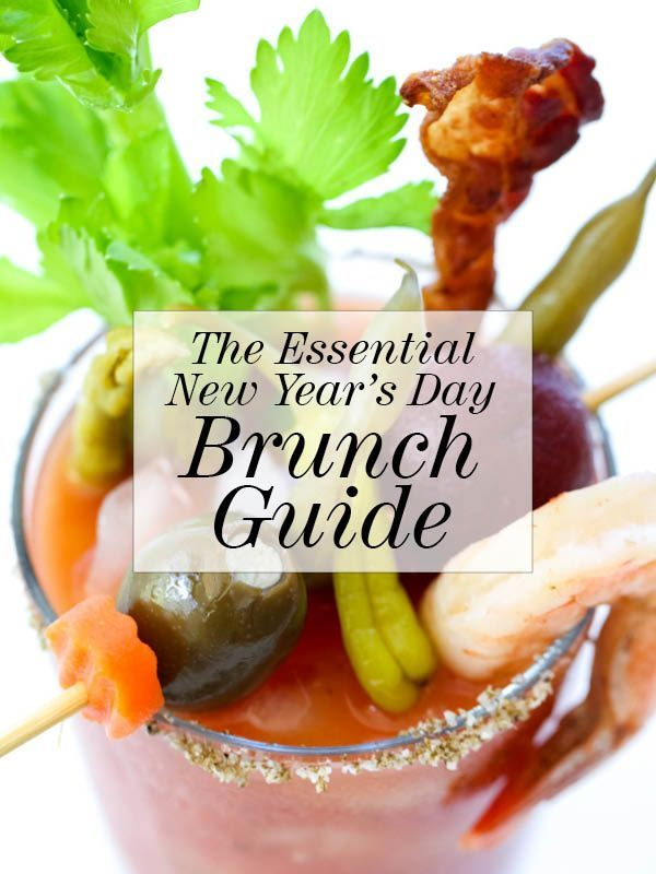 The Essential New Year's Day Brunch Guide