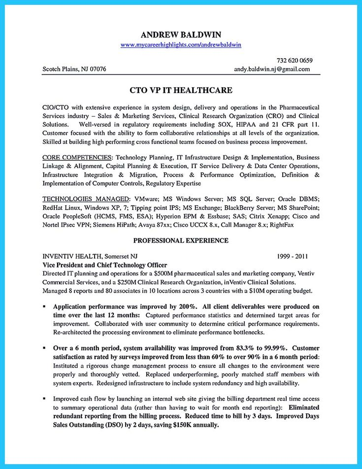 Awesome Outstanding Cto Resume For Professionals Resume Examples Functional Resume Resume