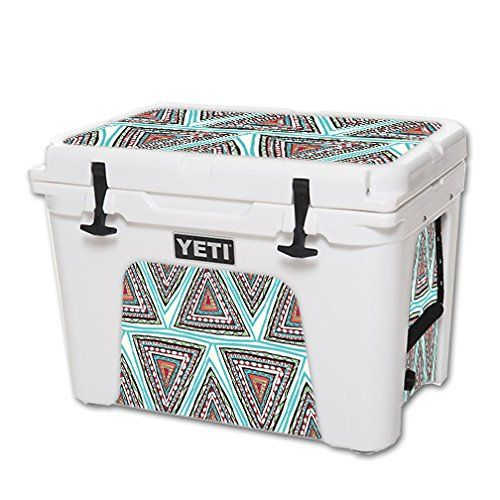 MightySkins Protective Vinyl Skin Decal for YETI Tundra 50 qt Cooler wrap cover sticker skins Aztec Pyramids * For more information, visit image link.(This is an Amazon affiliate link and I receive a commission for the sales)