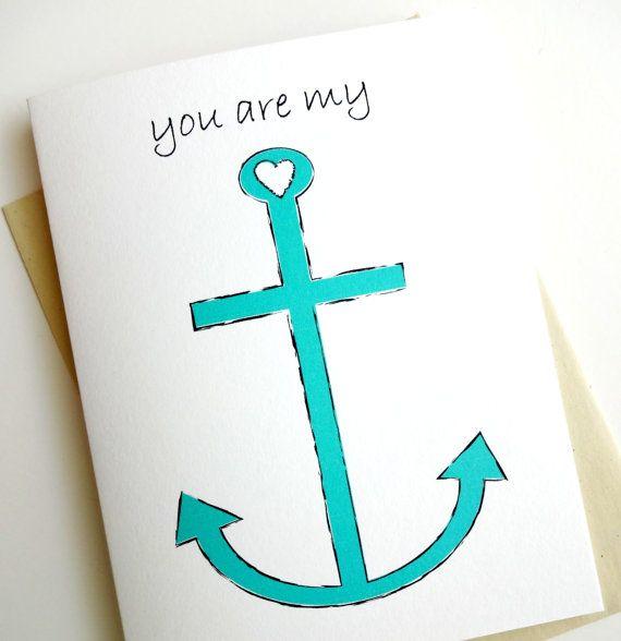 You Are My ANCHOR - Anniversary - Birthday - Wedding - Groom - Fiance - Boyfriend